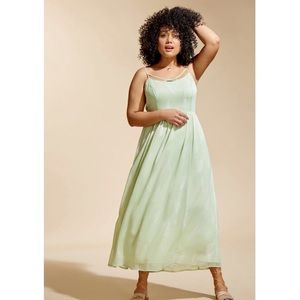 ModCloth   Envision the Mission Maxi Dress in Mint